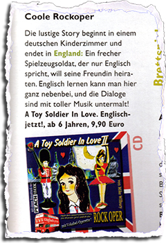 A Toy Soldier In Love Rezension